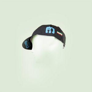 Cappellino ciclista altro scatto