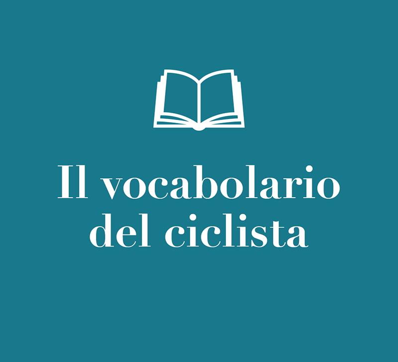 Il vocabolario del ciclista