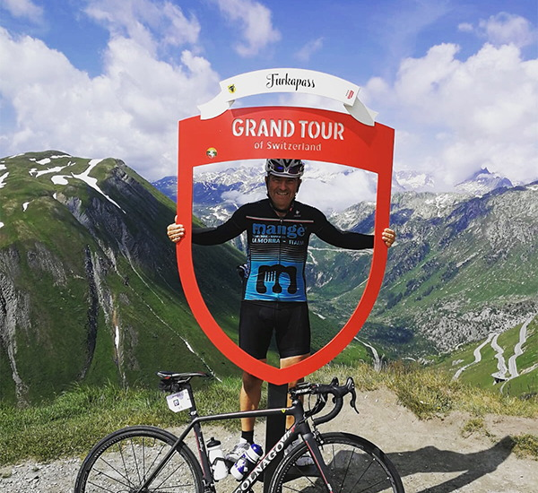 Ciclista cartone Grand tour