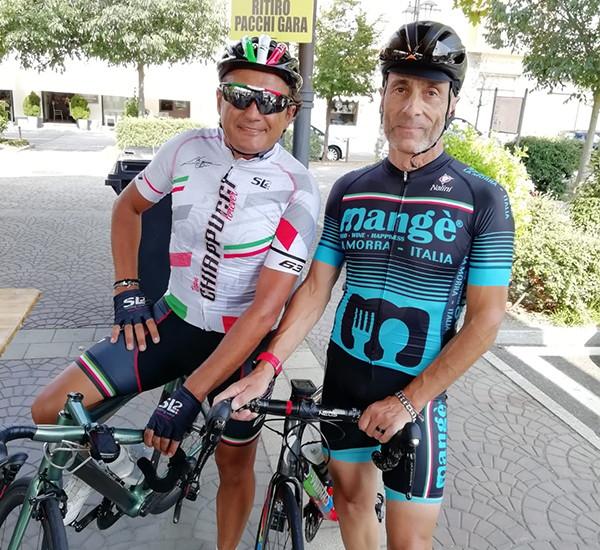 Coppia ciclisti